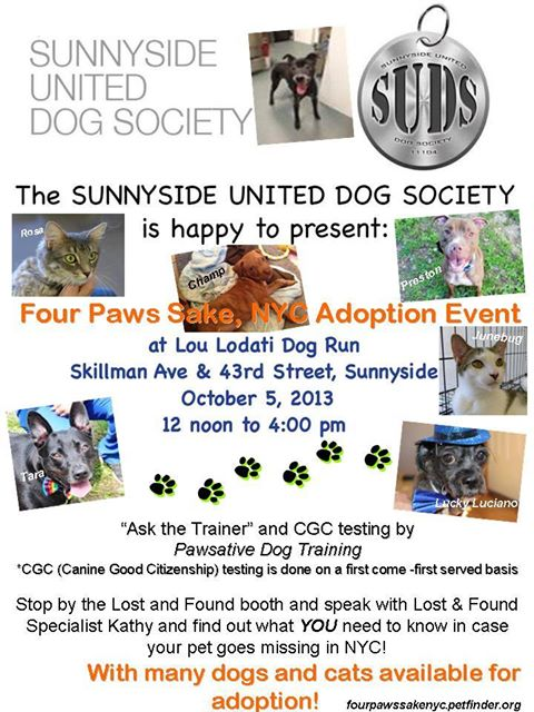 Sunnyside SUDS event